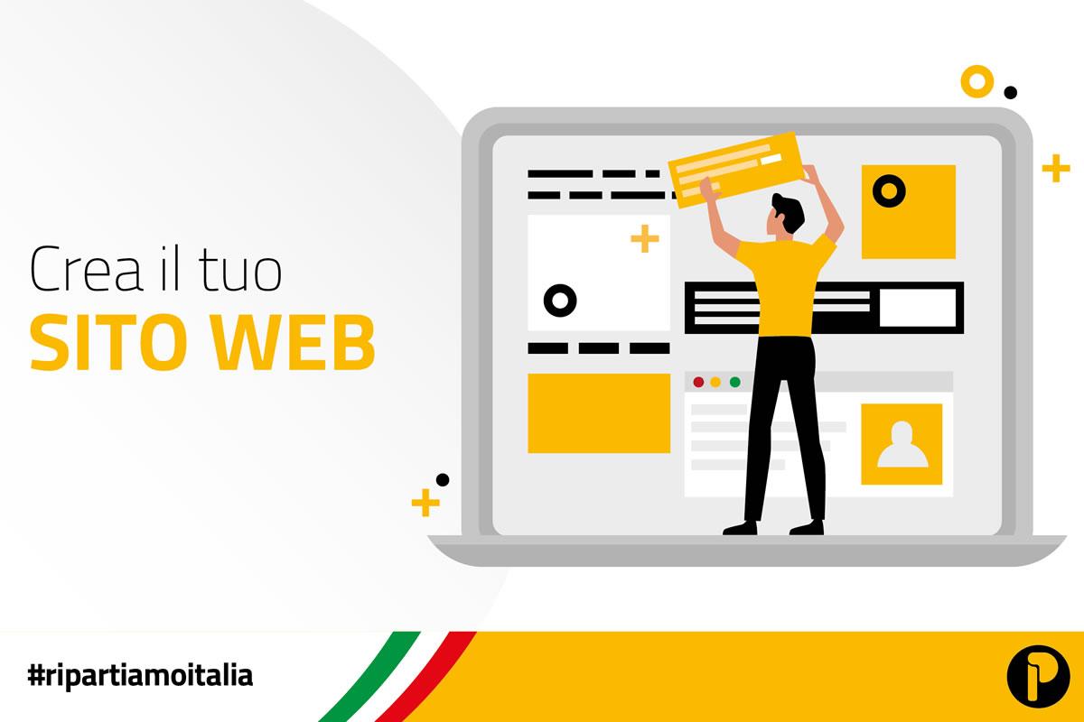 Ripartiamo Italia: Crea il tuo Sito Web, Presenta la tua Azienda, Vendi OnLine